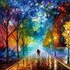 rain of colours