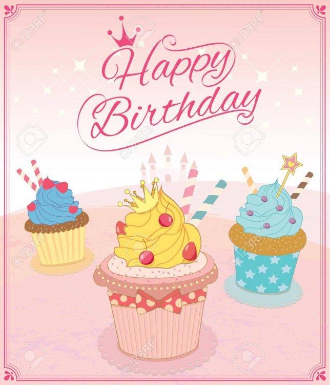 58508511-illustration-vecteur-de-cupcakes-dans-le-concept-de-thème-princesse-pour-la-carte-de-joyeux-anniversai.jpg