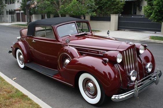 #Vintage Packard | 1939 Packard Twelve Roadster | The Vault Classic Cars