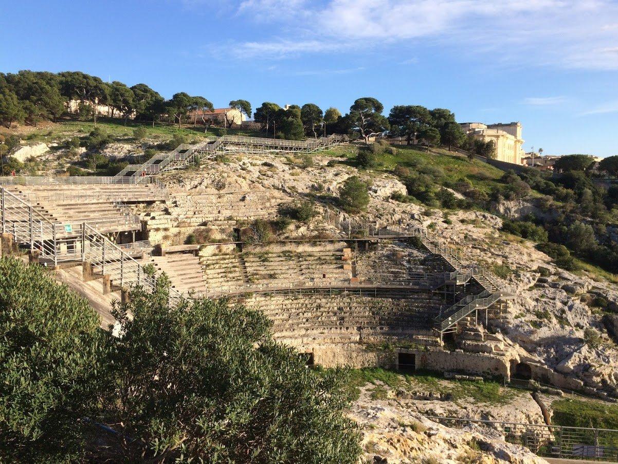 Anfiteatro Romano a Cagliari.JPG