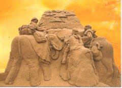 Statue di sabbia Jesolo 2008