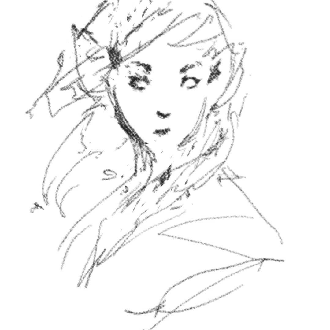 sguardo dell'elfa