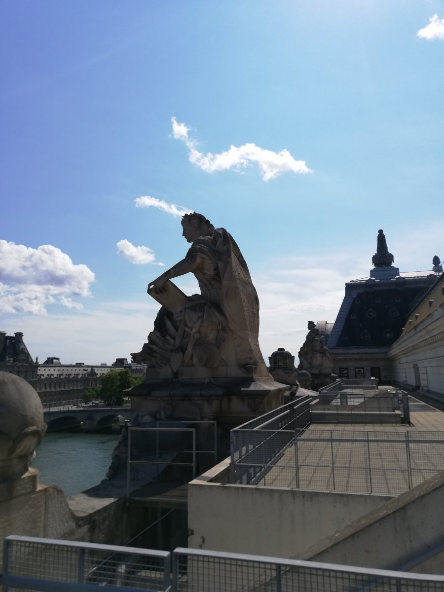 Sui tetti, ma non di Notre Dame...