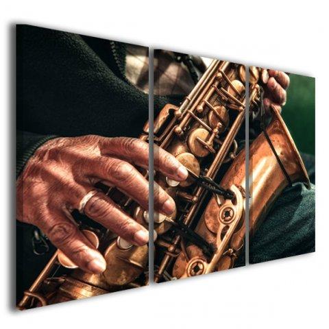 Quadri musica Sax