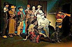 la guerra civile americana a teatro- dalla guerra civile al west