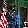 stefano jacurti è il generale Grant a teatro