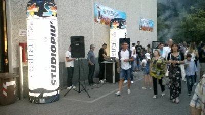 Diretta radio studio più (festa della stufa a Lonato del Garda)