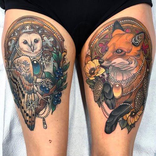 Neo-Traditional Tattos