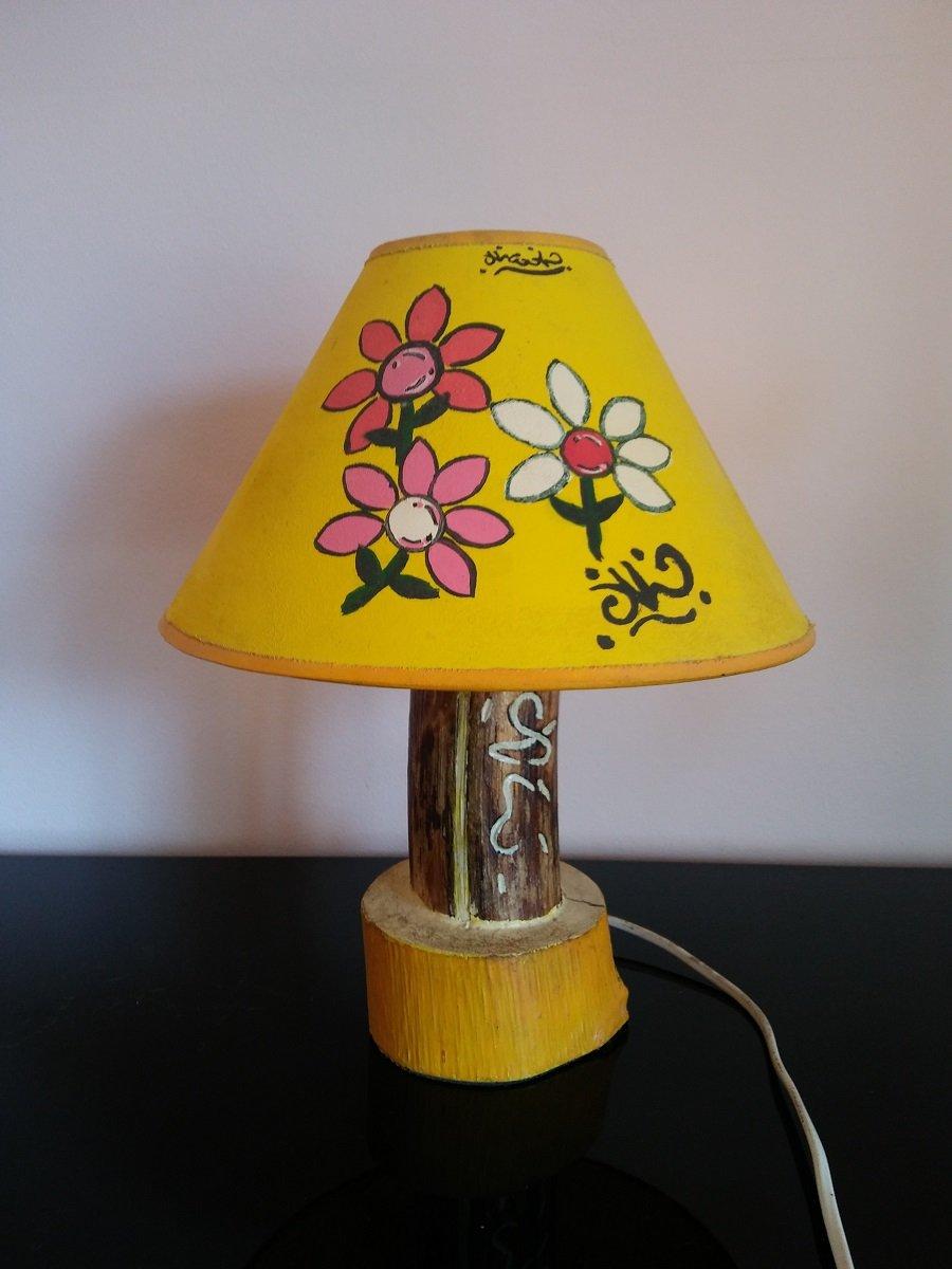 #LumeFiori_Giallo / lampada fiori giallo