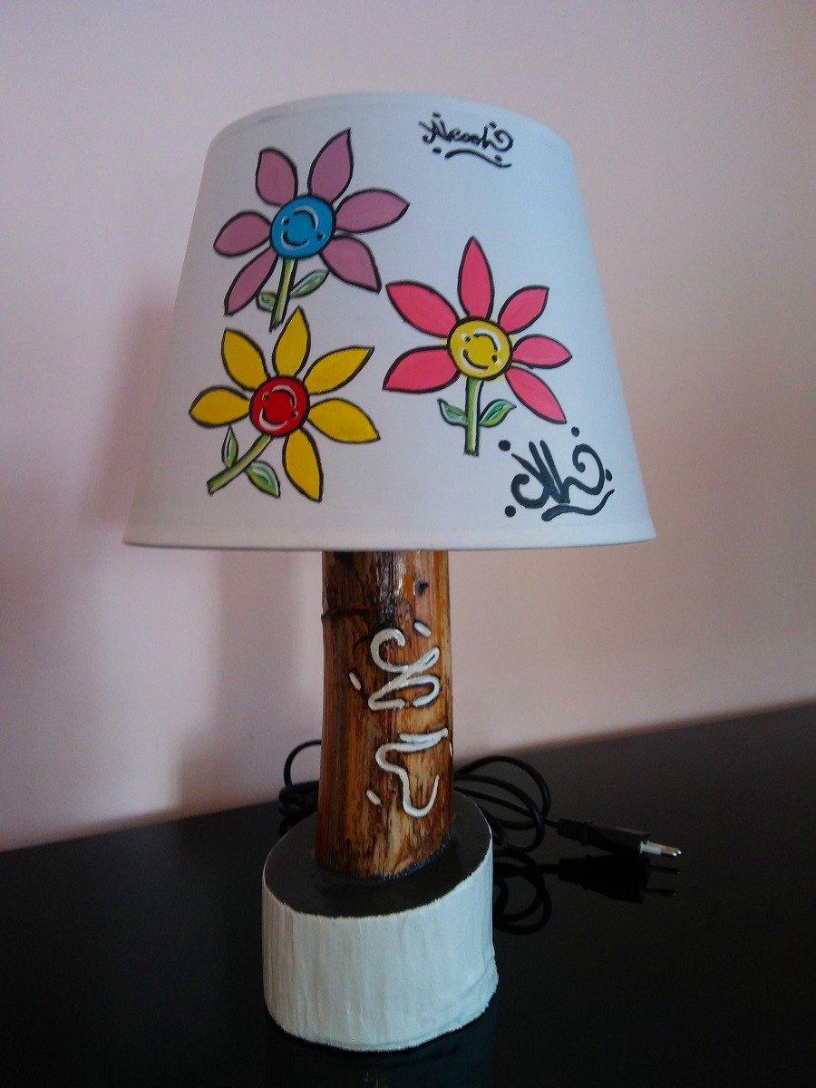 #LumeFiori_M2Bianco / lampada fiori M2 bianco
