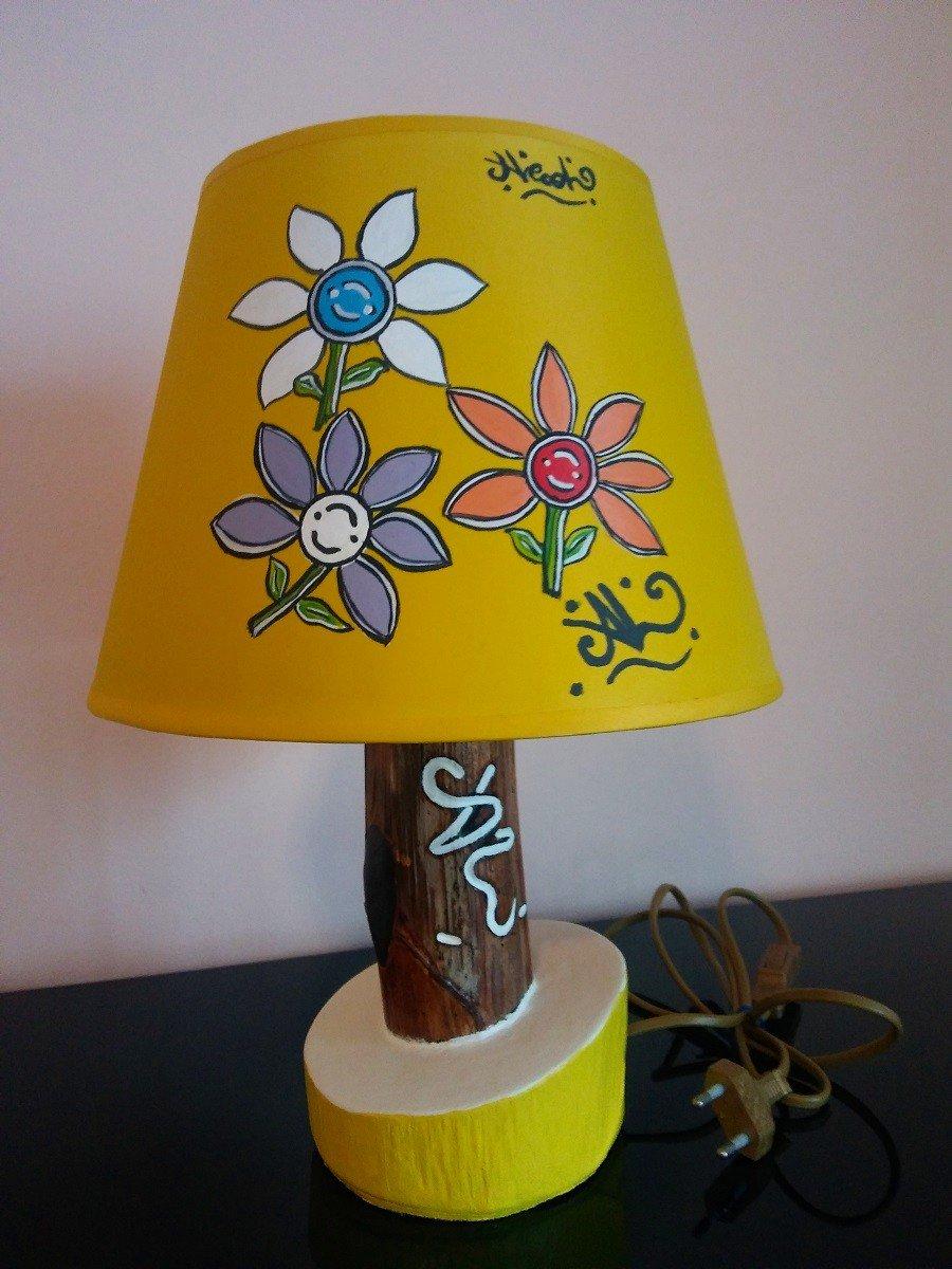 #LumeFiori_M2Giallo / lampada fiori M2 giallo