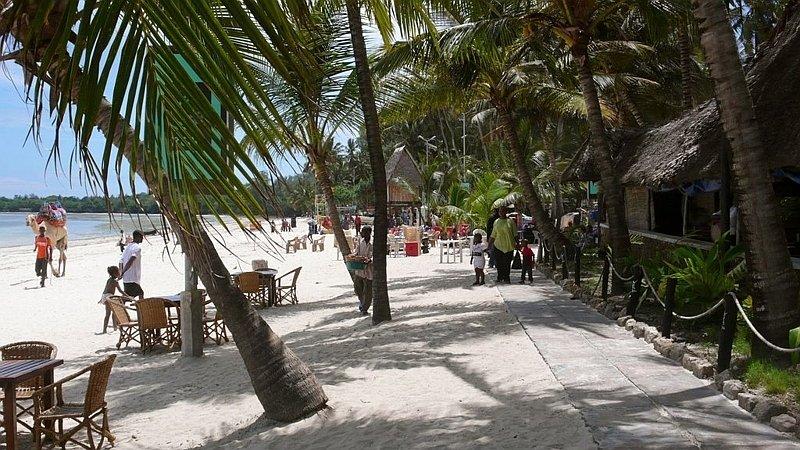 Bamburi beach