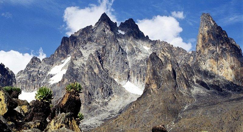 Vista del Monte Kenya