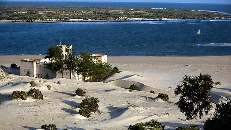 Il Forte. Spiaggia di Shela - Isola di Lamu