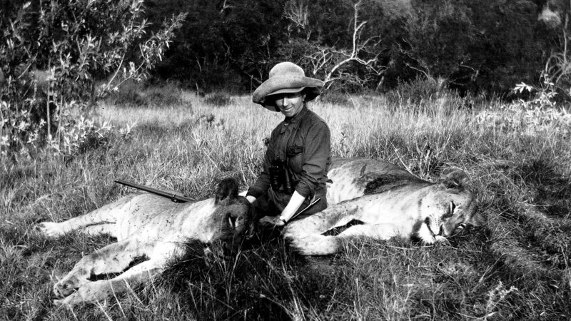 Karen Blixen in Kenya (1914)
