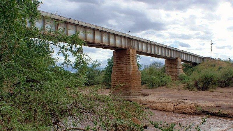 Ponte di Patterson sul Fiume Tsavo