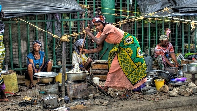 Street food Mombasa