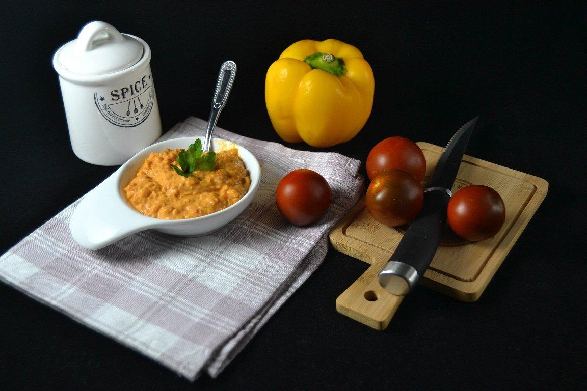 Salsa piccante ai peperoni