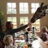 Colazione al Giraffe Manor di Nairobi