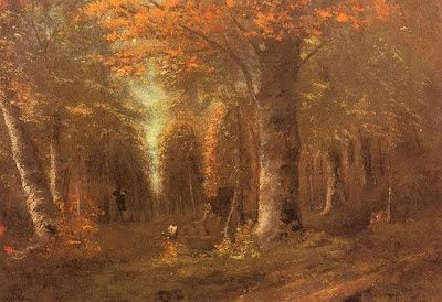 Gustave Courbet La foresta in autunno.jpg