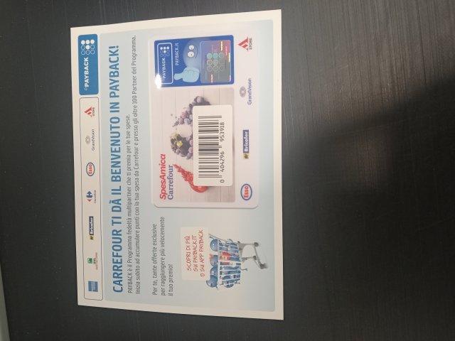 La Mia Carta emessa dal Gruppo Francese Carrefour: Je T'Aime France!