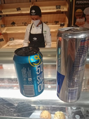 Mie 2 Birre Danesi + Una Mia Redbull Austriaca + Miei Due Dolci Francesi